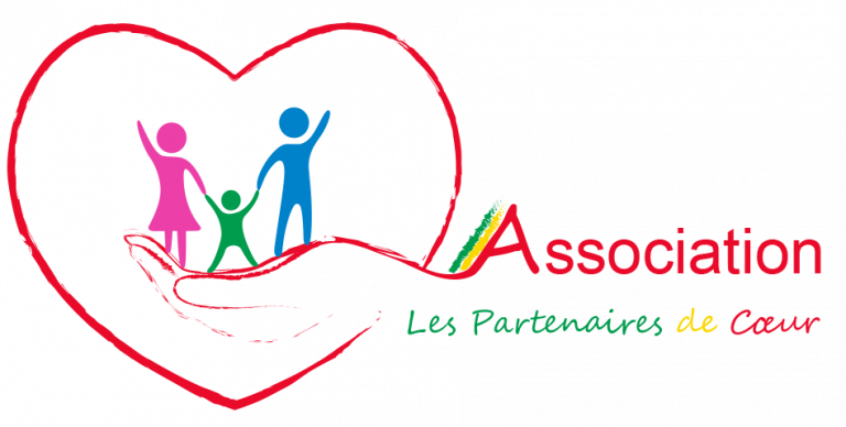 logo Association Les Partenaires de Coeur - 3DbiagioLAB - grafica