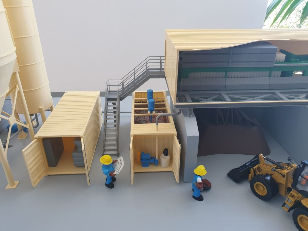 Modellino 3DbiagioLAB 2 - Bauma 2019 Tecnoidea