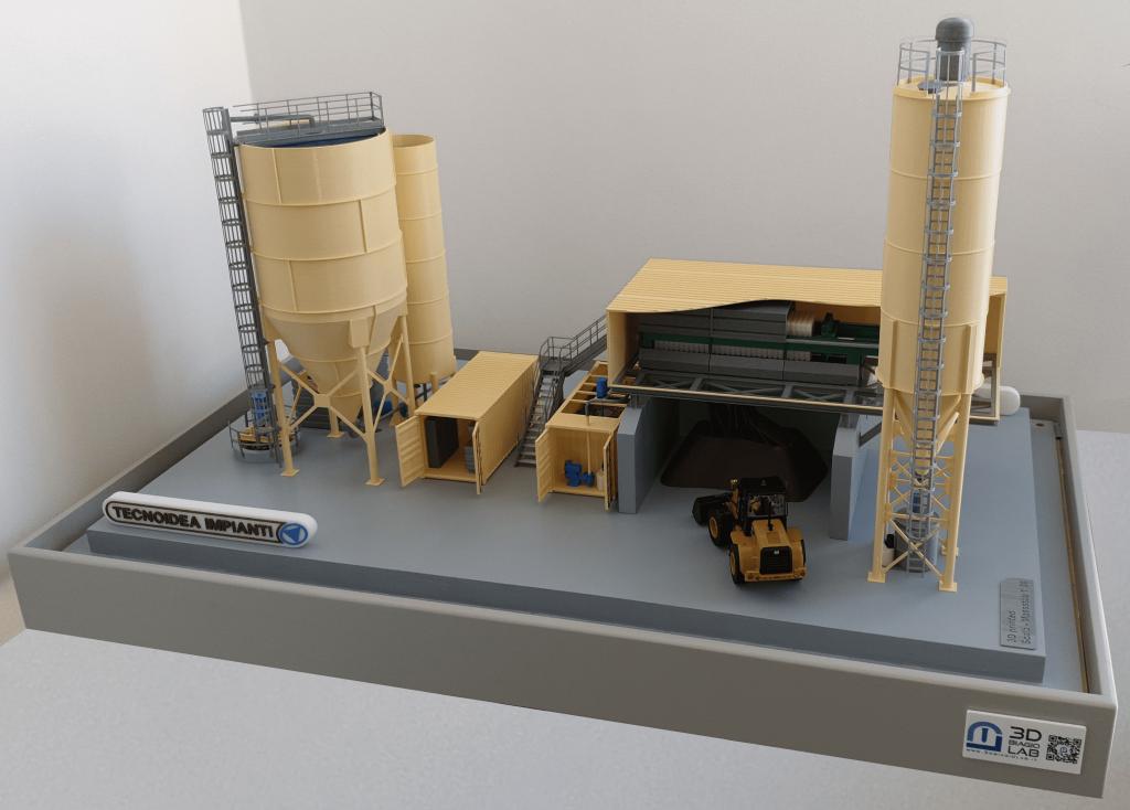 Modellino 3DbiagioLAB 4 - Bauma 2019 Tecnoidea