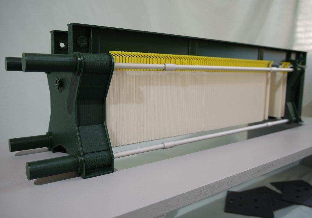 Modellino stampa 3D filtropressa Strabag - 3Dbiagiolab