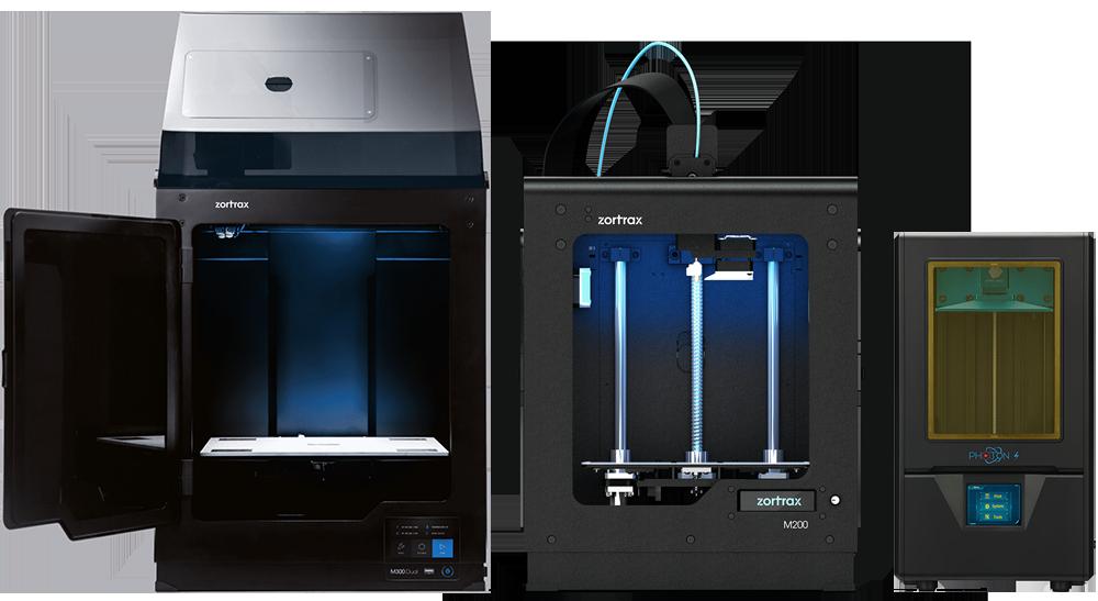 Stampanti 3D - 3dbiagiolab zortrax M300 plus - zortax M200 - anycubic photon